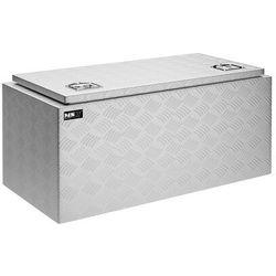 MSW Skrzynka narzędziowa - aluminium - 119 l - wodoodporna MSW-ATB-910 - 3 LATA GWARANCJI