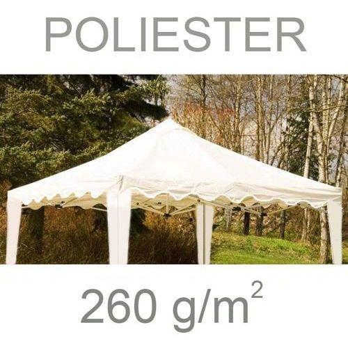 Namioty ogrodowe, NIEPRZEMAKALNY DACH 260g/m NA PAWILON OGRODOWY TYPU 3x3 - Beżowy