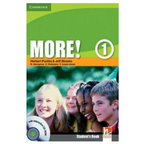 Książki do nauki języka, More! 1 SB CD Gratis CAMBRIDGE (opr. broszurowa)