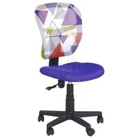 Fotele, Fotel młodzieżowy Halmar Jump fioletowy - gwarancja bezpiecznych zakupów - WYSYŁKA 24H