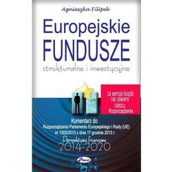 Europejskie Fundusze strukturalne i inwestycyjne [E-book]
