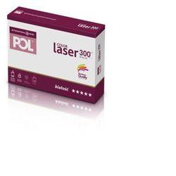 Papier xero A4 PolColor Laser 300g. biały