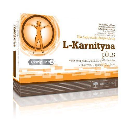 Tabletki na odchudzanie, OLIMP L-karnityna Plus 80 tabl.