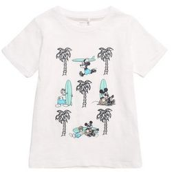 NAME IT Koszulka 'NMMMICKEY CASPIAN SS TOP WDI' mieszane kolory / biały