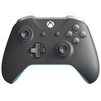 Gamepady, Microsoft Xbox Wireless Controller- Grey/Blue - Gamepad - Microsoft Xbox One S