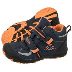 Trekkingi Kappa Perry Mid Tex K 260566K/6744 Navy/Orange (KA151-a)