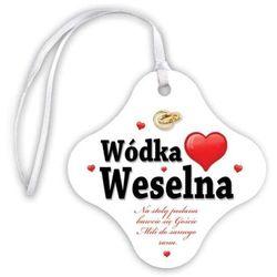 "Zawieszka na butelkę ""Wódka Weselna Serce"", 20 szt"