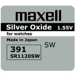 bateria srebrowa mini Maxell 381 / 391 / SR 1120 SW / G8