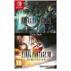 Gra Nintendo Switch Final Fantasy VII + Final Fantasy VIII: Remastered - Twin Pack