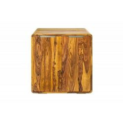 INVICTA szafka barowa GOA 100 cm - Sheesham, drewno naturalne