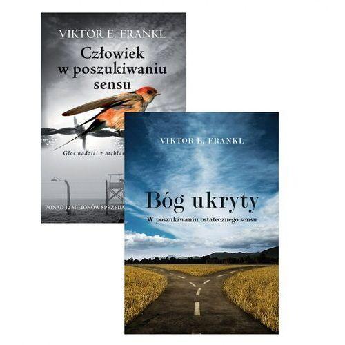 Książki religijne, PAKIET Człowiek w poszukiwaniu sensu + Bóg ukryty