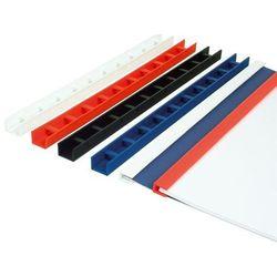 Listwy do bindowania zatrzaskowe Greenbindery Argo, czerwone, 10 mm, 50 sztuk, oprawa do 80 kartek - Rabaty - Porady - Hurt - Negocjacja cen - Autoryzowana dystrybucja - Szybka dostawa
