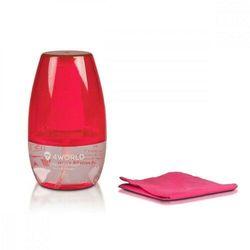 4world Zestaw czyszczący 50ml, ściereczka 15x15cm, różowy