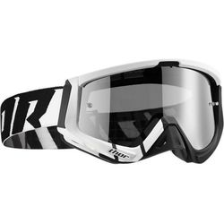 THOR GOGLE SNIPER BARRED OFFROAD WHITE/BLACK =$