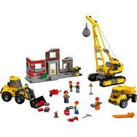 Klocki dla dzieci, Lego CITY Rozbiórka 60076