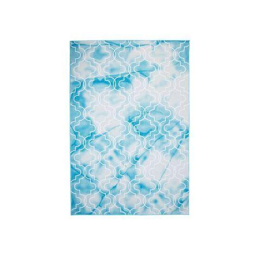 Dywany, Dywan 160 x 230 cm niebiesko-biały ELAZIG