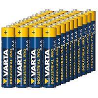 Monitory oddechu, Baterie alkaliczne VARTA Industrial AAA LR3 40szt - alkaliczna ||LR03