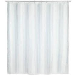 Zasłona prysznicowa z poliestru, wodoodporna kurtyna PALAIS + 12 pierścieni mocujących - 200 x 180 cm, WENKO