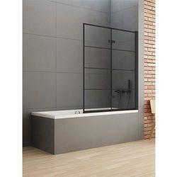 Parawan wannowy 100x140 P-0050 New Soleo Black New Trendy