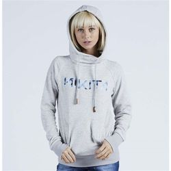 bluza NIKITA - Reykjavik Solid Po Hoody Ghost Grey (GHO) rozmiar: M