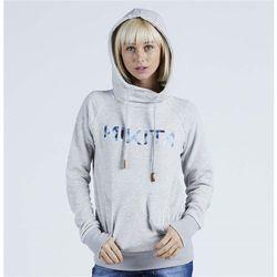 bluza NIKITA - Reykjavik Solid Po Hoody Ghost Grey (GHO) rozmiar: S