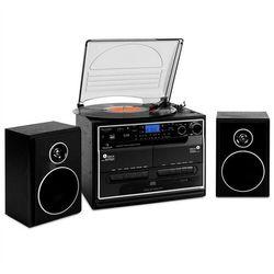 Auna 388-BT wieża Stereo gramofon kasetaBluetooth