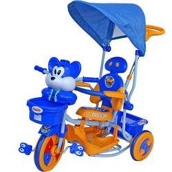 Rower trójkołowy T-30 2830 Wiewiórka niebiesko-żółty