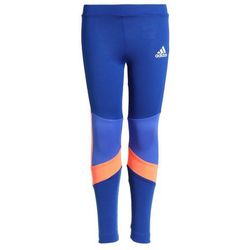 adidas Performance Legginsy bright red/chalk coral/hires orange/white