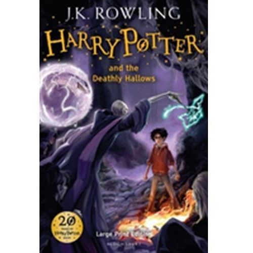Literatura młodzieżowa, Harry Potter and the Deathly Hallows (wydanie dla niedowidzących) (opr. twarda)