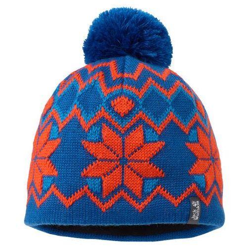 Nakrycia głowy dla dzieci, Czapka KIDS NORDIC POMPOM CAP - classic blue