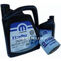 Filtry oleju, Oryginalny MOPAR filtr oraz mineralny olej 5W30 Jeep Grand Cherokee 4,7 V8 -2008