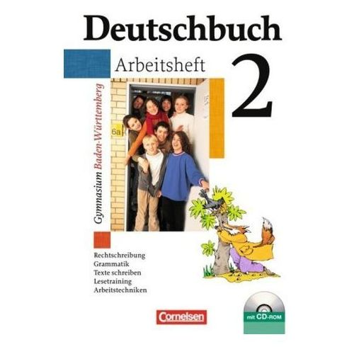 Pozostałe książki, 6. Schuljahr, Arbeitsheft m. CD-ROM Fingerhut, Margret