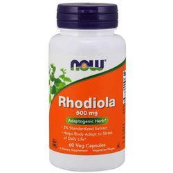 Now Foods Różeniec Górski (Rhodiola Rosea) 500 mg 60 kapsułek