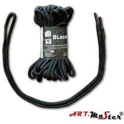 Sznurowadła BLaces OBL art master brązowo-czarne