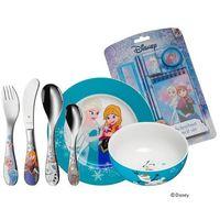 """Sztućce dla dzieci, WMF - """"Frozen"""" Zestaw obiadowy dla dzieci z przyborami szkolnymi"""