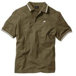 Shirt polo Regular Fit bonprix ciemnooliwkowy