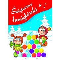 Książki dla dzieci, Świąteczne łamigłówki (opr. broszurowa)