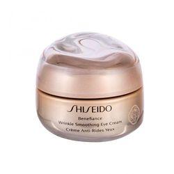 Shiseido Benefiance Wrinkle Smoothing krem pod oczy 15 ml dla kobiet