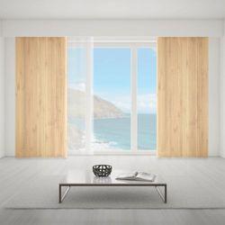 Zasłona okienna na wymiar - CLASSIC THICK WOODEN BOARDS