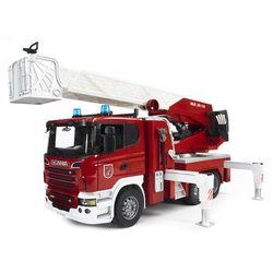 Bruder samochód scania r straz pożarna z pompa wodną