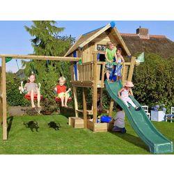 Drewniany plac zabaw dla dzieci Domek Cwanego
