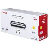 Tonery i bębny, Canon oryginalny toner CRG717, yellow, 4000s, 2575B002, Canon MF-8450