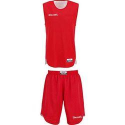 Strój koszykarski dziecięcy dwustronny Spalding - czerwono/biały 119 bt (-8%)