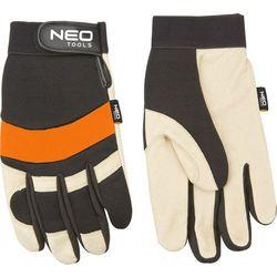 Rękawice robocze NEO 97-606 Biało-czarny (Rozmiar XL) + Zamów z DOSTAWĄ JUTRO!