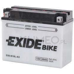 Akumulator EXIDE Conventional E50-N18L-A3 12V 20Ah 260A prawy+ oL