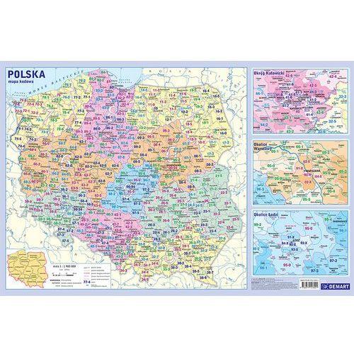 Mapy i atlasy dla dzieci, Podkładka edukacyjna- mapa administracyjna Pol.