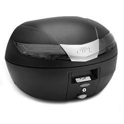 Kufer Givi V40NT (czarny, 40 litrów, szare odblaski)