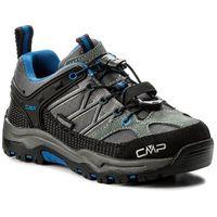 Kozaki dziecięce, Trekkingi CMP - Kids Rigel Low Trekking Shoes Wp 3Q54554 Grey/Zaffiro 52ak