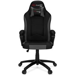 Fotel gamingowy ATILLA carbon szary dla graczy