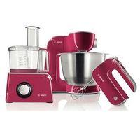 Roboty kuchenne, Robot kuchenny BOSCH MCM 42024 (800W / różowy)